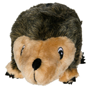 Top Paw Laying Hedgehog Dog Toy Squeaker