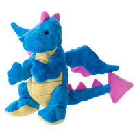 Top Pawtrade; Tuff Chewguard Dragon Dog Toy - Squeaker
