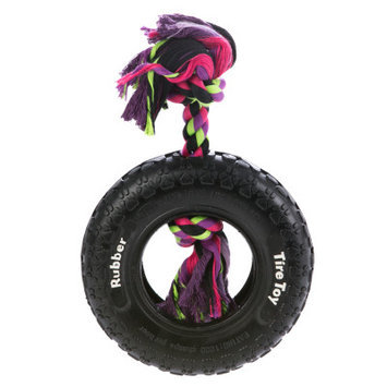 Top Paw Tuff Tire Dog Toy