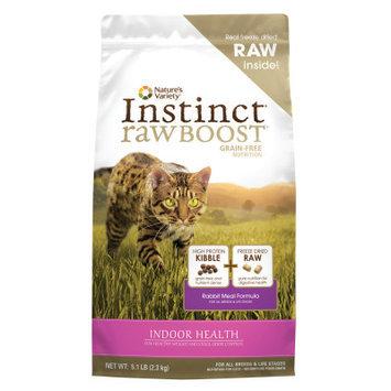 Natures Variety Instinct Rawboost Grain Free Rabbit Indoor Cat Food