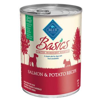 Blue Buffalo Company Blue Buffalo BB00593 Basics Salmon & Potato Adult Dog Wet Can Food, 11.4 lbs.