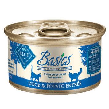 Blue Buffalo Company Blue Buffalo BB00625 Basics Duck & Potato Adult Cat Wet 6.35 lbs.