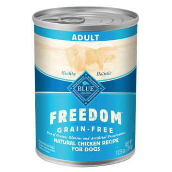 Blue Buffalo Company Blue Buffalo Freedom Grain Free Chicken Recipe Adult Canned Dog Food