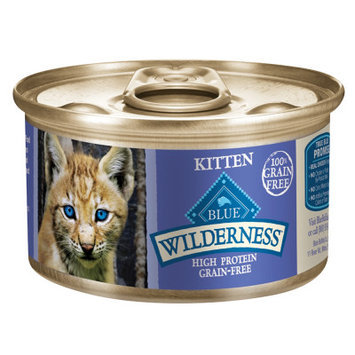 Blue Buffalo Company Blue Buffalo Wilderness Kitten Recipe Canned Cat Food