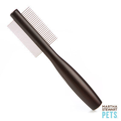 Martha Stewart Pets Gromming and Flea Combo Small Dog Comb