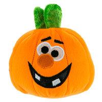 Top Paw Pet Halloween Toothy Pumpkin Dog Toy Plush, Squeaker