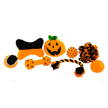 Top Paw Pet Halloween Dog Toy Value Pack