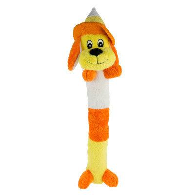 Top Paw Pet Halloween Candy Corn Chance Dog Toy Squeaker