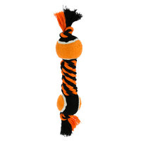 Top Paw Pet Halloween Tennis Ball Dumbbell Dog Toy