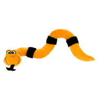 Grreat Choice Pet Halloween Paw Snake Dog Toy Squeaker COLOR VARIES