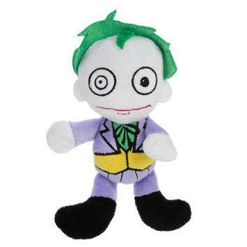 DC Comics Pet Halloween Joker Dog Toy Plush, Squeaker