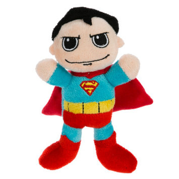 DC Comics Pet Halloween Superman Dog Toy Squeaker