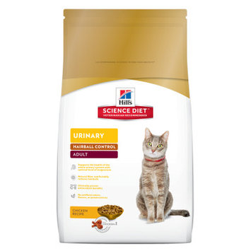 Hill's Science Diet Hills Science Diet Chicken Urinary Hairball Control Adult Cat Food