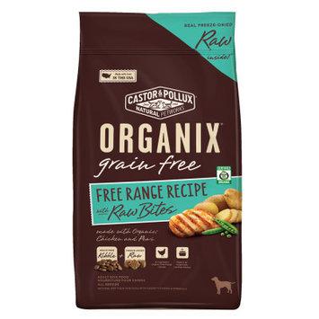 Castor & Pollux Castor and Pollux ORGANIX Adult Dog Food Grain Free, Organic, Free Range Raw Bites, Chicken