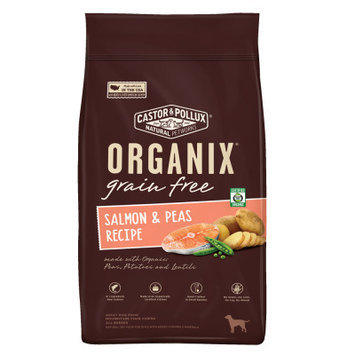 Castor & Pollux Castor and Pollux ORGANIX Adult Dog Food Grain Free, Organic, Salmon and Peas