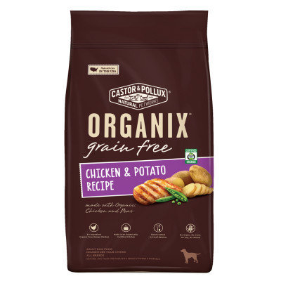 Castor & Pollux Castor and Pollux ORGANIX Adult Dog Food Grain Free, Organic, Chicken and Potato