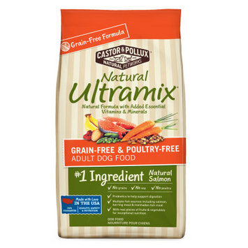 Castor & Pollux Castor and Pollux Natural Ultramix Adult Dog Food Grain Free, Salmon
