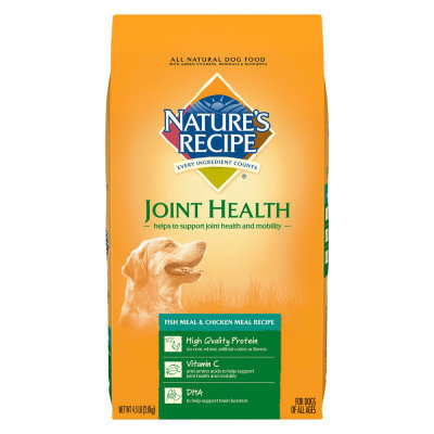 Nature's Recipe Nature Recipe Joint Health Dog Food Natural, Fish Meal and Chicken Meal