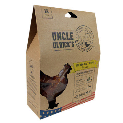 Uncle Ulrick's Uncle Ulricks Natural Chicken Jerky Strips Dog Treat