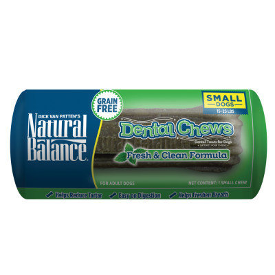 Natural Balance Limited Ingredient Grain Free Fresh and Clean Small Dog Dental Chews
