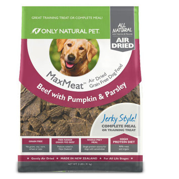 Only Natural Pet MaxMeat Air Dried Dog Beef 2 lbs