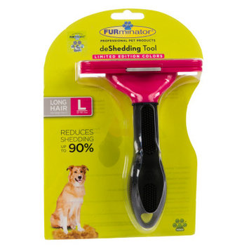 FURminator deShedding Long Haired Dog Tool