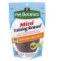 Pet Botanics Natural Bacon Mini Training Reward Dog Treat