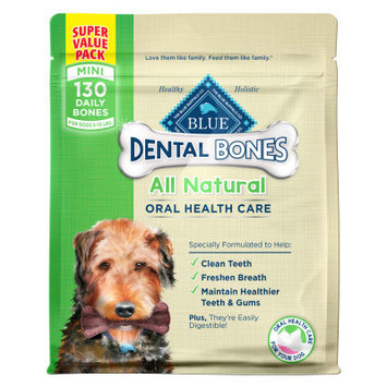 Blue Buffalo BLUE Dental Bones Natural Mini Dog Treat