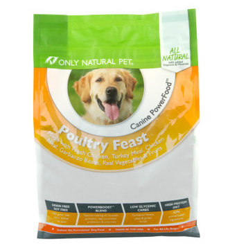 Only Natural Pet Canine PowerFood Poultry Feast 4.5lb