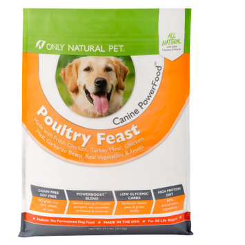 Only Natural Pet Canine PowerFood Poultry Feast 22.5lb