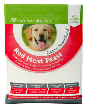 Only Natural Pet Canine PowerFood RedMeat Feast 22.5lb