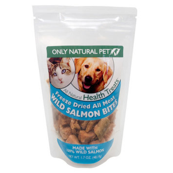 Only Natural Pet All Meat Bites Wild Salmon 1.7oz