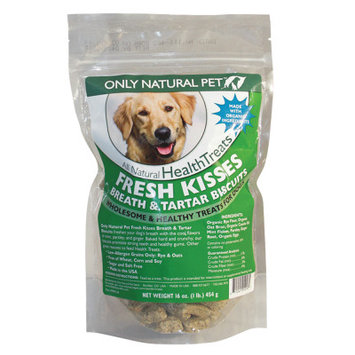 Only Natural Pet Fresh Kisses Breath & Tartar Dog Biscuits