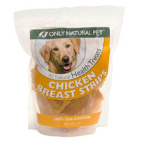 Only Natural Pet Grain Free Chicken Breast Strips Dog Treat