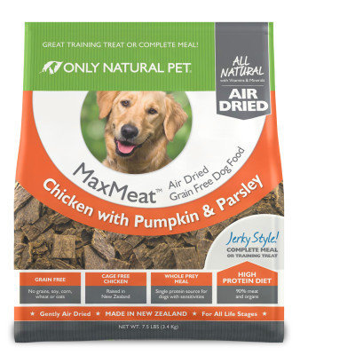 Only Natural Pet MaxMeat Air Dried Dog Chicken 7.5 lbs