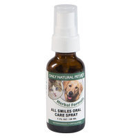 Only Natural Pet All Smiles Oral Care Spray 1 oz