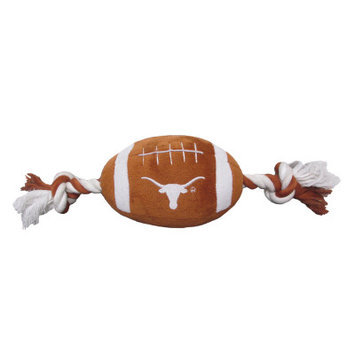 Pets First University of Texas Longhorns Ncaa Football Dog Toy