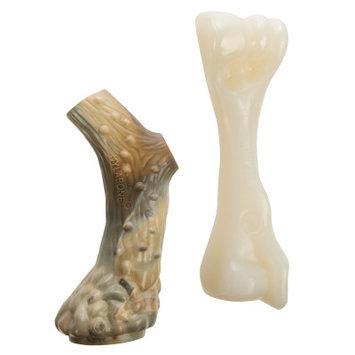 Nylabone Alternative Antler Beef Bone Chew Dog Toy