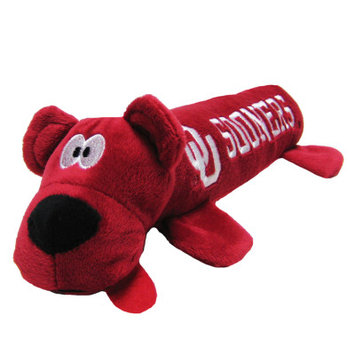 Pets First University of Oklahoma Sooners Ncaa Tube Dog Toy