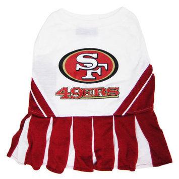 Pets First San Francisco 49ers NFL Cheerleader Uniform
