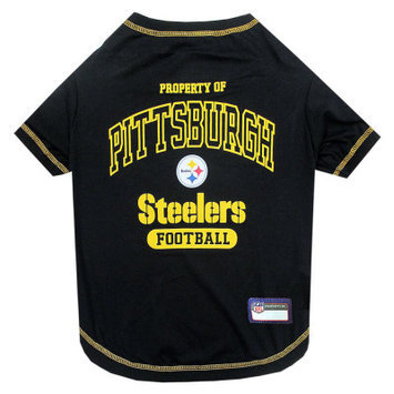 Pets First Pittsburgh Steelers NFL Team Tee