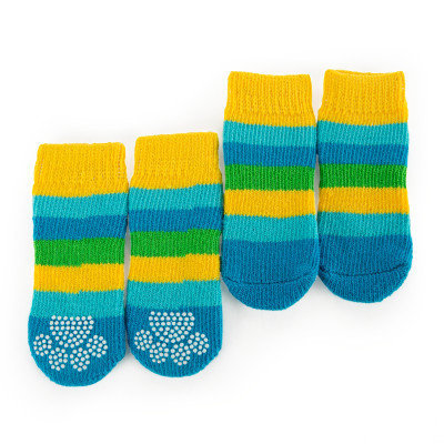 Grreat Choicetrade; Stripe Socks, Blue