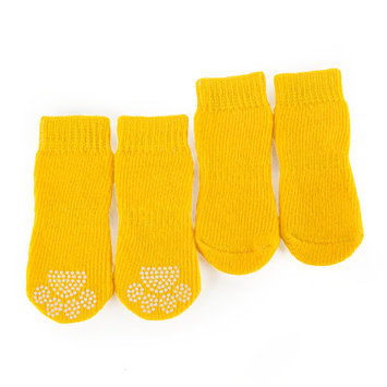 Grreat Choicetrade; Solid Socks, Yellow