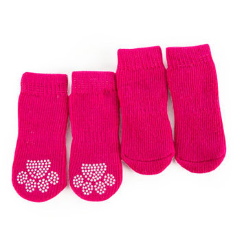 Grreat Choicetrade; Solid Socks, Pink