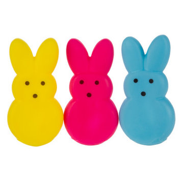 Peeps Bunny 3-Pack Dog Toy - Squeaker