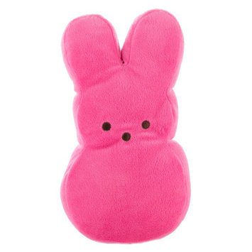 Peeps Bunny Dog Toy - Plush, Squeaker, Pink