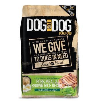 Dog For Dog DogsFood - Natural, Pork Meal Brown Rice