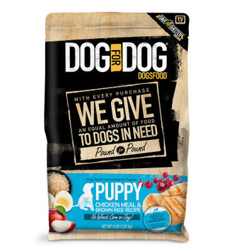 Dog For Dog DogsFood Puppy - Natural, Chicken Meal Brown Rice