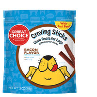 Grreat Choice Craving Sticks Dog Treat - Bacon