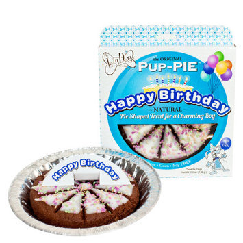 Lazy Dog Cookie Co. The Lazy Dog Cookie Company Pup-Pie Dog Treat - Happy Birthday